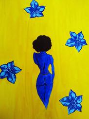 Blue Nude, 2020