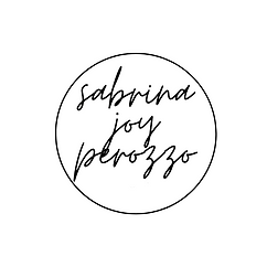 logo graphic for Sabrina Perozzo's website