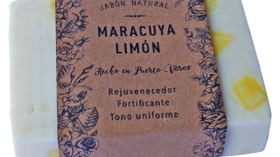 Jabón Natural Maracuyá y Limón100 g