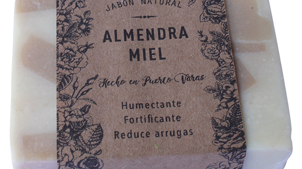 Jabón Natural Almendra y Miel 100 g