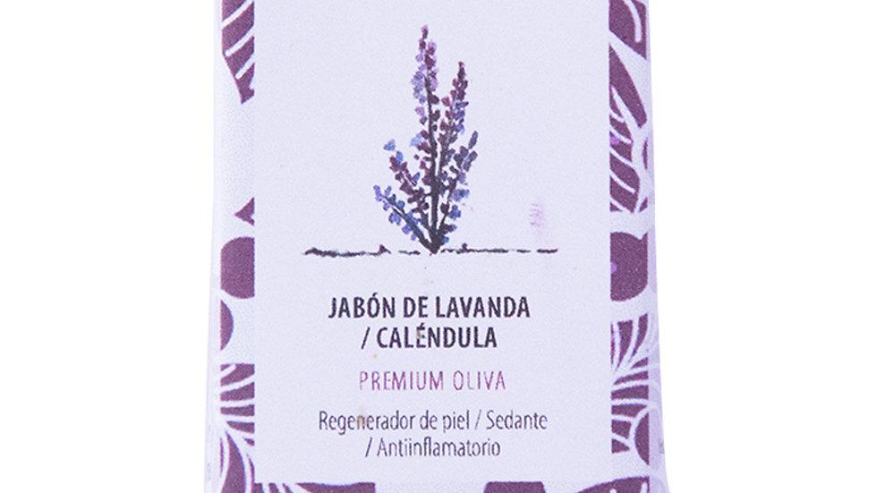 Jabón Natural Premium Lavanda  y Calendula 100 g