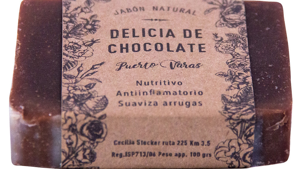 Jabón Natural Delicia de Chocolate 100 g