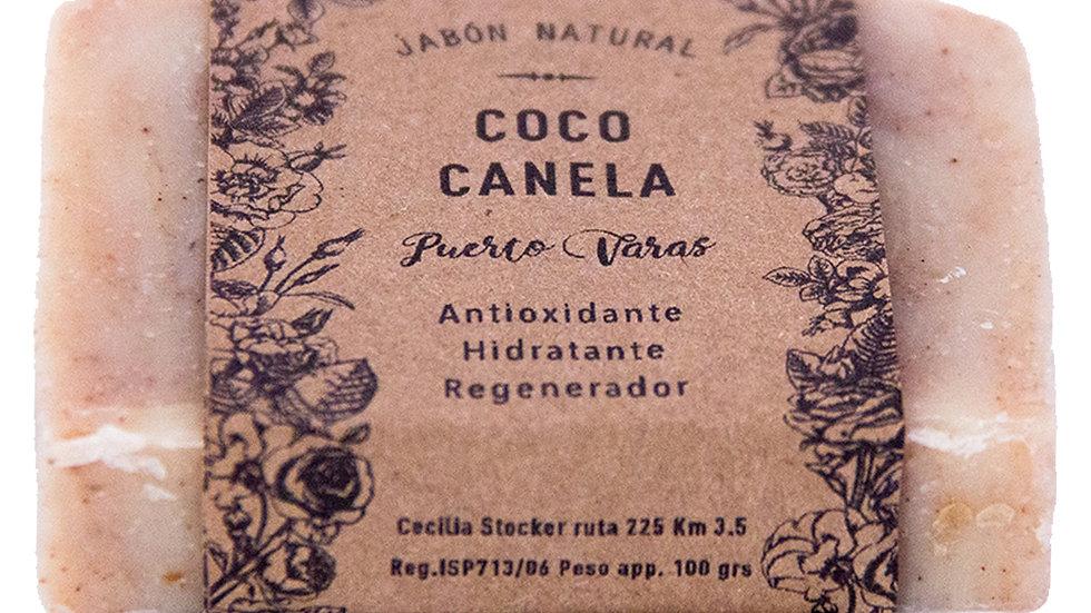 Jabón Natural Coco y Canela