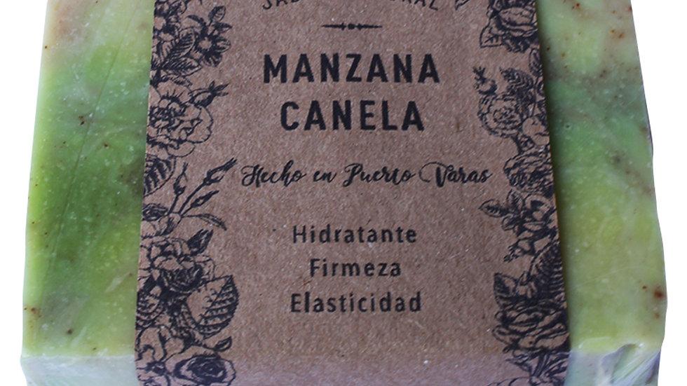 Jabón Natural Manzana y Canela