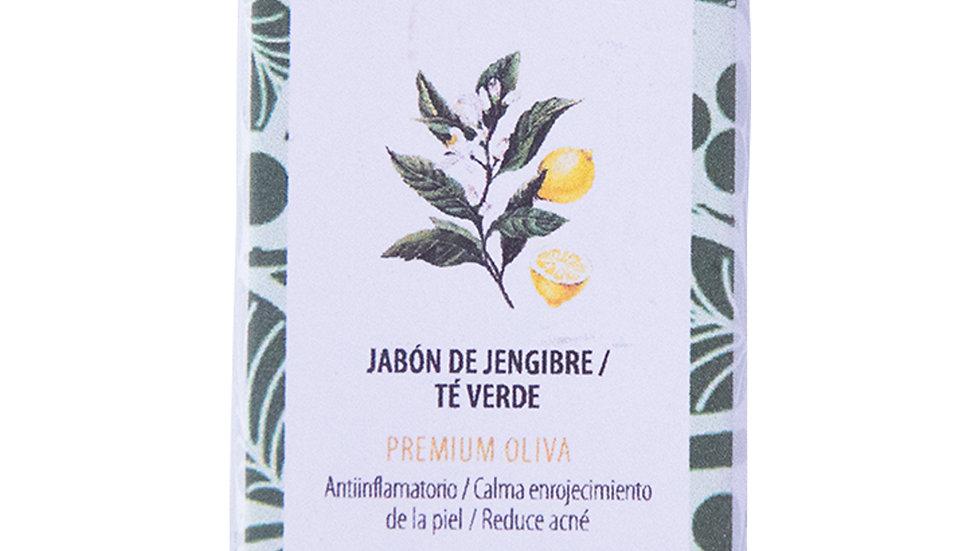 Jabón Natural Premium Jengibre y Té verde 100 g