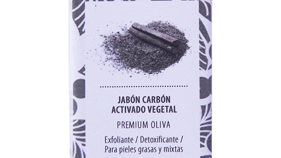 Jabón Natural Premium Carbón Activado 100 g