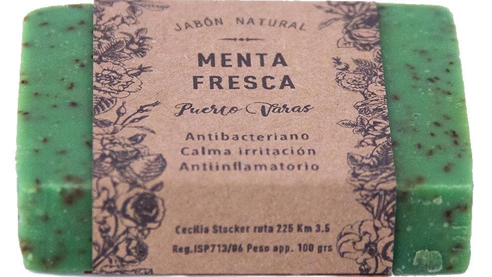 Jabón Natural Menta Fresca 100 g