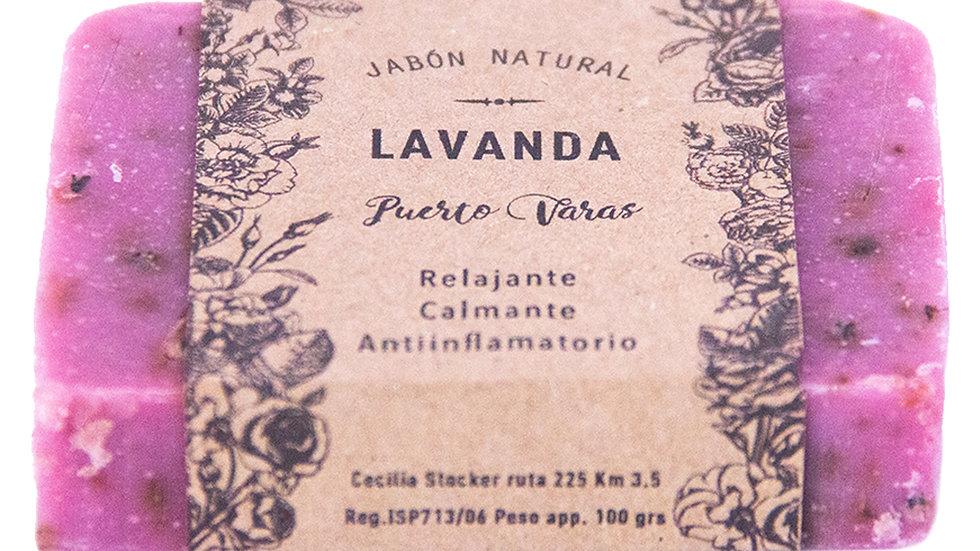 Jabón Natural Lavanda 100 g