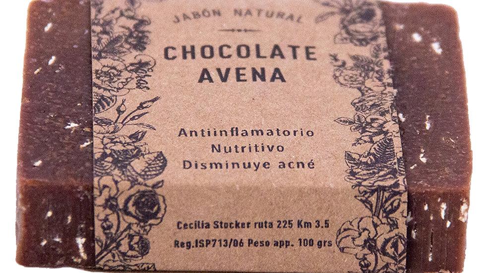 Jabón Natural Chocolate y Avena 100 g