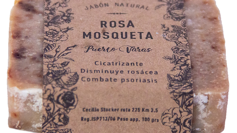 Jabón Natural Rosa Mosqueta 100 g