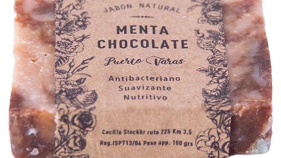 Jabón Natural Menta y Chocolate 100 g