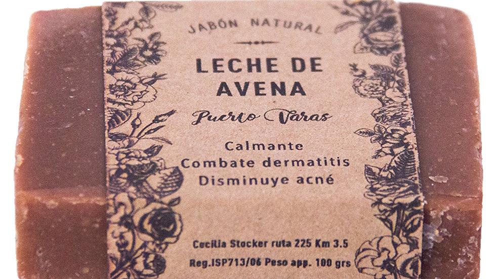 Jabón Natural Leche de Avena 100 g