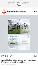 Image of a house flyer