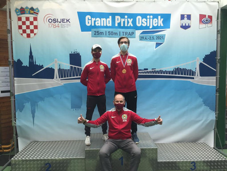 Osijekas Grand Prix sacensības šaušanā!