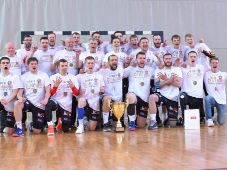 Dobeles Sporta skolas audzēkņi – Latvijas čempioni handbolā.