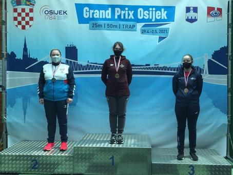 Osijekas Grand Prix sacensībās - Dobeles Sporta skolas audzēkņi turpina plūkt laurus!!!