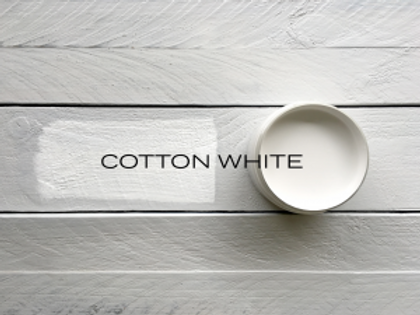 'COTTON WHITE' MINERAL PAINT