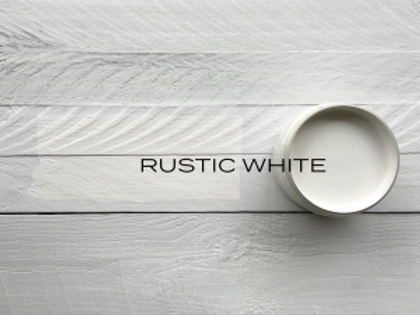 'RUSTIC WHITE' MINERAL PAINT