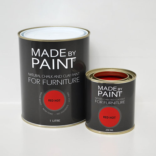'RED HOT' MADE BY PAINT