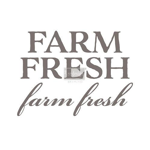 'FARM FRESH' TRANSFER
