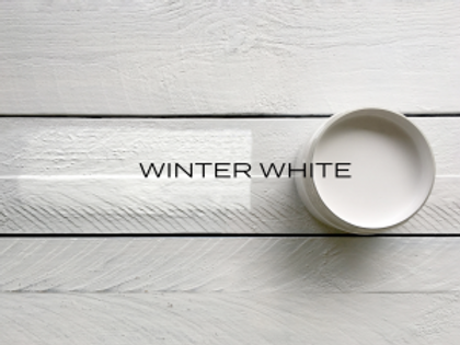 'WINTER WHITE' MINERAL PAINT