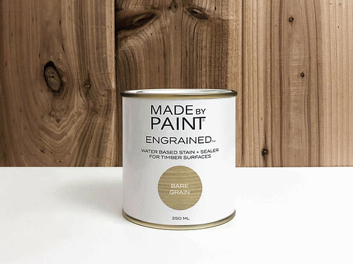 'BARE GRAIN' STAIN (ENGRAINED)