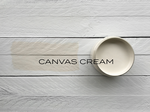 'CANVAS CREAM' MINERAL PAINT