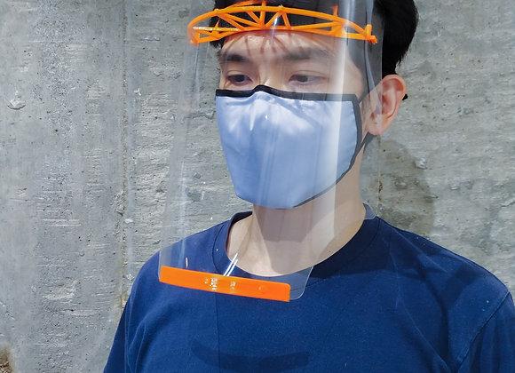 FluStop Shield - 3D 打印面罩