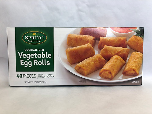 Spring Valley Vegetable Egg Rolls -40 pcs- 32oz