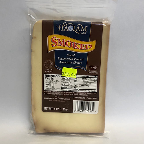 Haolam Smoked Sliced American Cheese 5oz