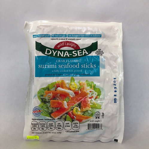 Dyna-Sea Crab Flavor Surimi Seafood Stick 16oz