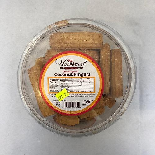 Universal Bakery Coconut Fingers 12oz