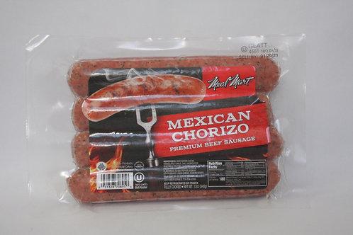 Meal Mart Mexican Chorizo Premium Beef Sausage 12oz