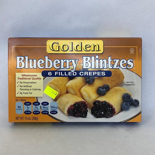 Golden Blueberry Blintzes -6 pcs- 13oz