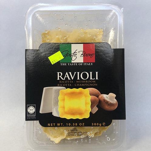 Gusto Buono Ravioli -Riccota & Mushroom- 10.58oz