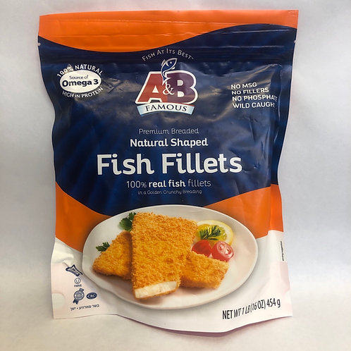 A&B Fish Fillets 16oz
