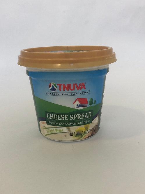 Tnuva Premium Cheese Spread With Olives 7.94 oz