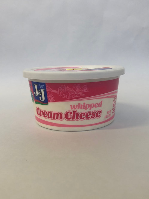 J&J Whipped Cream Cheese 8 oz