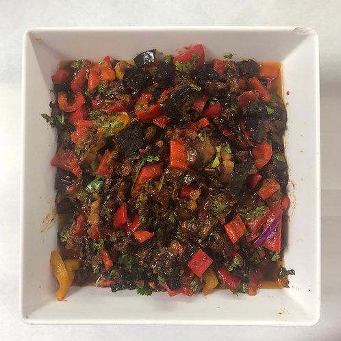 Sweet Eggplant Salad 16oz (9.99/LB)