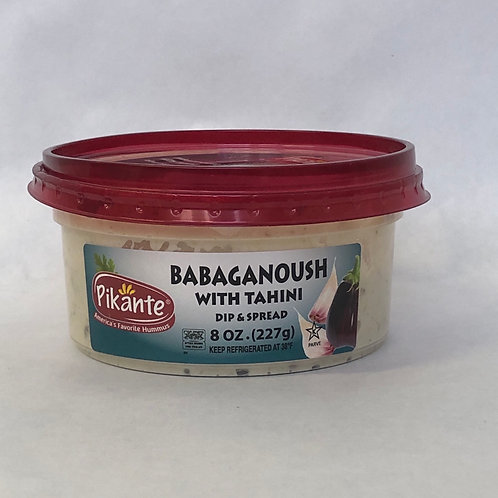Pikante Babaganoush with Tahini 8oz