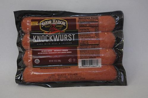 Shor Habor Beef & Chicken Knockwurst 12oz