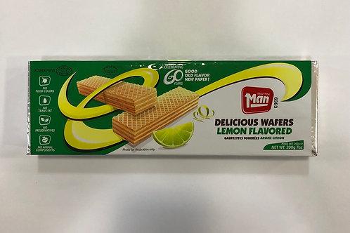 Lemon Flavored Wafers 7oz