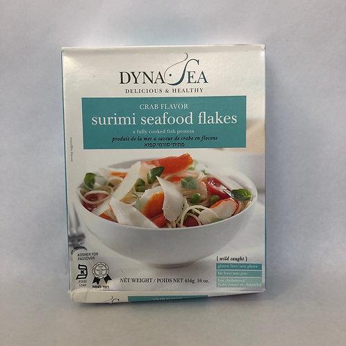 Dyna-Sea Crab Flavor Surimi Seafood Flakes 16oz