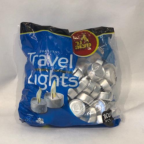 Ner Mitzvah Travel Lights -100 pcs-