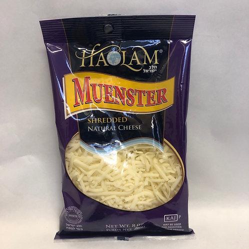 Haolam Muenster Shredded Cheese 8oz