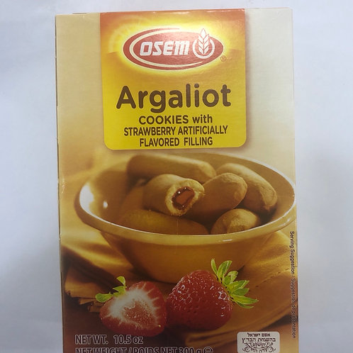 Osem Argaliot Cookies Filled With Strawberry 10.5oz