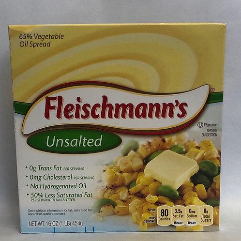 Fleischmann's Unsalted 65% Vegetable Oil Spread 16oz