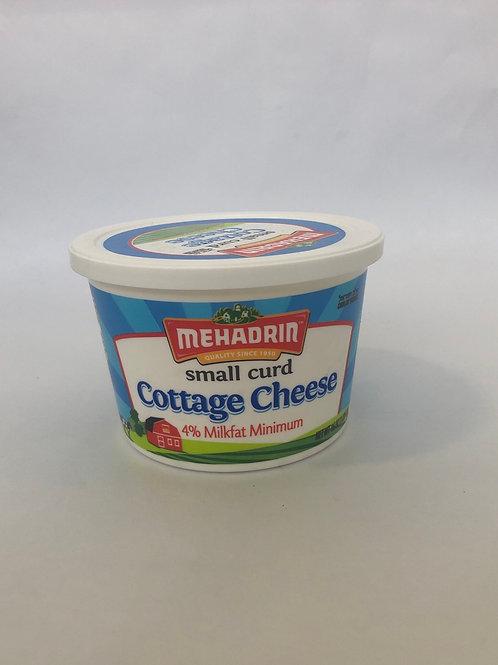 Mehadrin Small Curd Cottage Cheese 4% Milkfat Minimum 16 oz