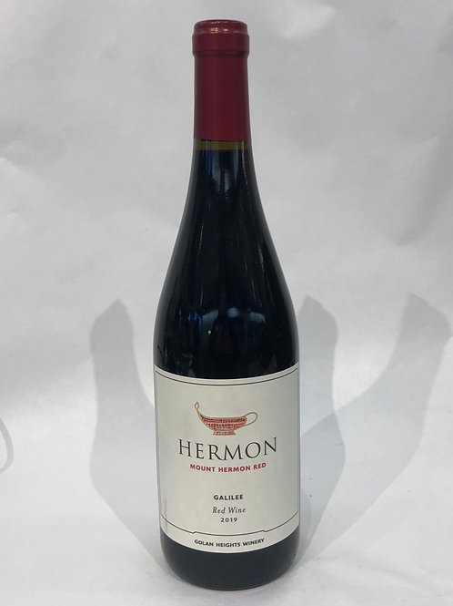 Hermon Red Wine 2019 14% Alc 750ML