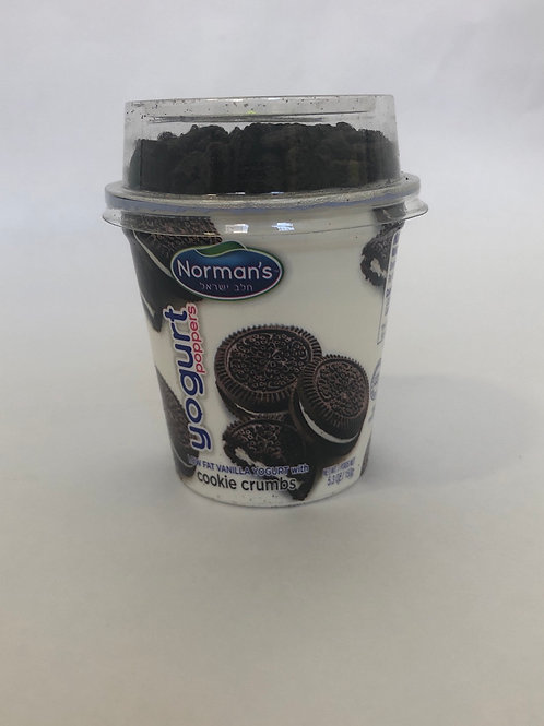 Norman's Low-fat Vanilla Yogurt With Cookie Crumbles 5.3 oz
